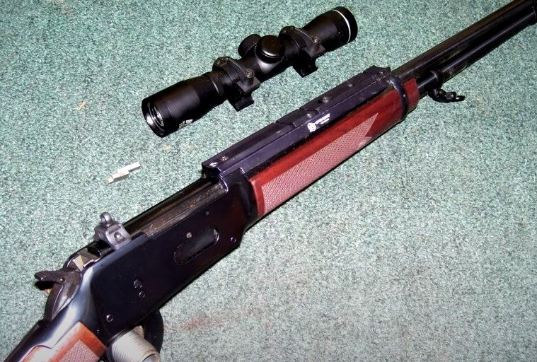 Lever-Action Rifles With  Scout Scope